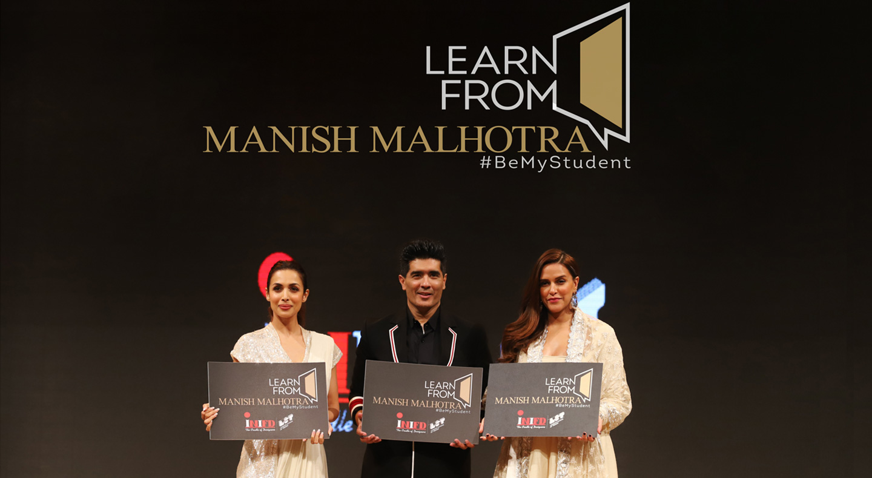 Learn From Manish Malhotra Inifd