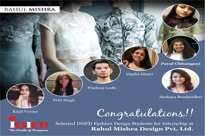 Join Inifd Inter National Institute Of Fashion Design